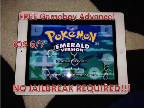 How to install FREE GBA emulator on iOS 6/7 NO JAILBREAK!