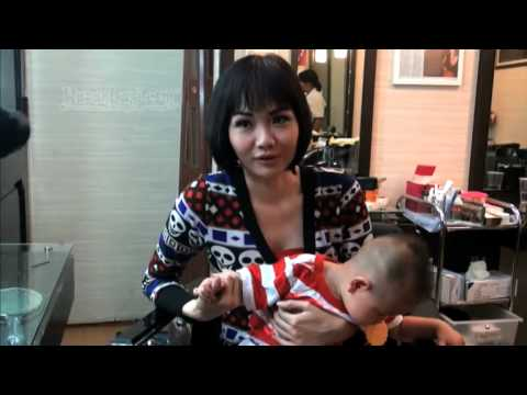 Alena Wu Bahagia Urus Anak Sendiri