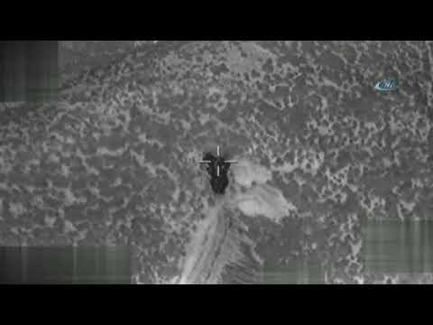Zeytin Dalı Harekâtı'nda 153 Terör Hedefi Vuruldu