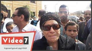 """عايدة عبد العزيز: """"معالى زايد كنت جارتى الطيبة..الله يرحمها"""""""