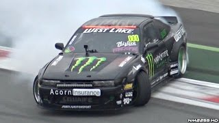 MONSTER LS3 V8 Swapped Nissan 200SX BRUTAL Sound & Drifting!