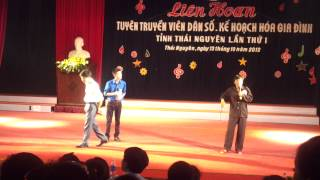 Tiểu phẩm: Thử thôi - Giải nhất Liên hoan Tuyên truyền viên dân số KHHGD 2012