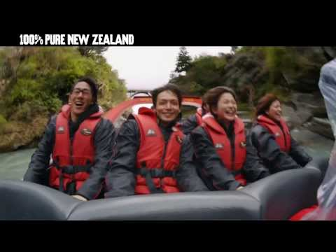 Tourism New Zealand Japan Young Adventurers Campaign - Queenstown Adventure - 3 min