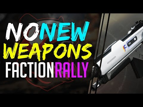 Destiny 2 NO NEW WEAPONS in FACTION RALLY Season 2, REALLY @Bungie.