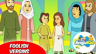 Best Bible stories for kids | The Foolish Virgins | Animation | Preschool | Kids | Kindergarten