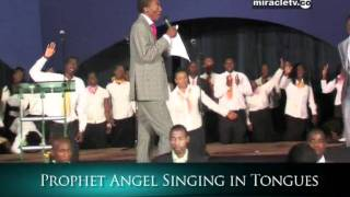 Prophet Uebert Angel Singing in Tongues - Spirit Embassy