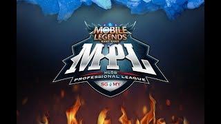 LIVE MPL -  Week 5, Day 1! RRQ VS Nxl - MOBILE LEGENDS