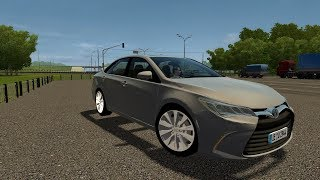 City Car Driving 1.5.6 | Toyota Camry XLE 2017 | +Download Link | 60 FPS 1080p