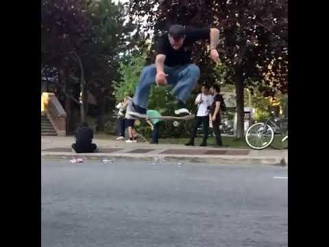Who do you know that has pop like @adriandelcampo 📲: @drew_mcgraw1   Shralpin Skateboarding