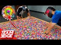 1 Paintball in 5,000 Bouncy Balls | Don