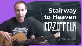 Stairway To Heaven - Led Zeppelin Guitar Lesson Tutorial (3/6)
