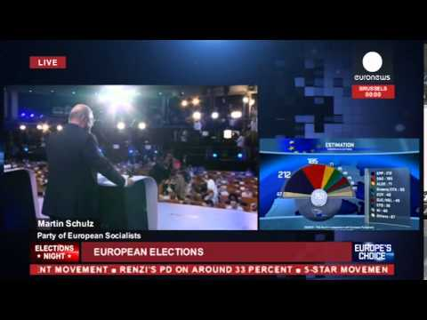 EU Elections Night 2014: Results, reactions, exit polls