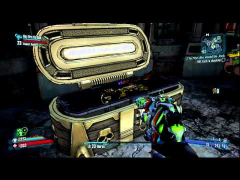 I think we broke the game...(Borderlands 2 LOOT!!!!!)