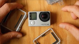 GoPro Hero 4 Silver Built In LCD Screen Review