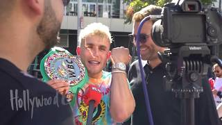 KSI VS Logan Paul Weigh In | Jeff Mayweather Fight Predictions & Jake Paul Speaks On Anesongib