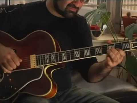 Solo Jazz Guitar Willow Weep For Me