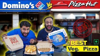 Dominos VS Pizza Hut - Best Pizza And Garlic Bread