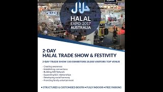 Halal Expo Australia 2017 and International Halal Conference (IHC) 2017