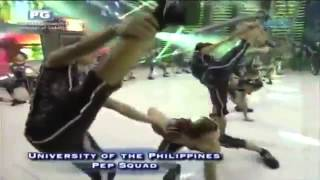 UP Pep Squad on Eat Bulaga - 20 September 2014