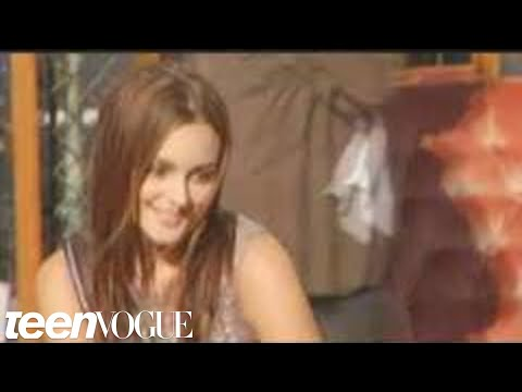 Leighton Meester s Teen Vogue Cover Shoot