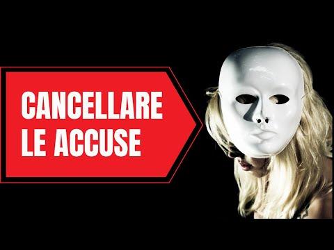 CANCELLARE LE ACCUSE (psicoquantistica)