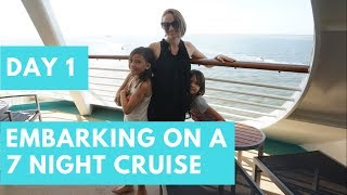 Cruise Life Day 1 | 7 Night Western Caribbean Cruise | RCCL Liberty Of The Seas