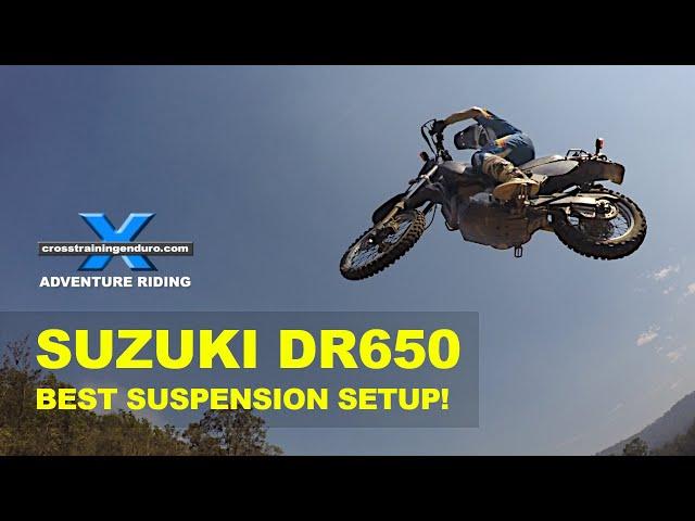 FFRC DR650 SERIES 9: best suspension upgrade ever ...