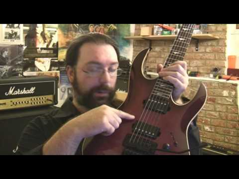 LAG Arkane 500ST Electric Guitar Demo