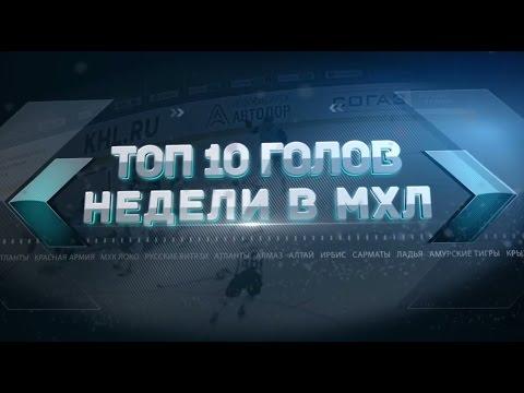 Лучшие голы 24-й недели МХЛ