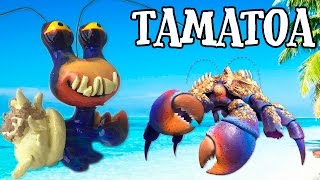 Custom TAMATOA LPS from MOANA Disney's Littlest Pet Shop