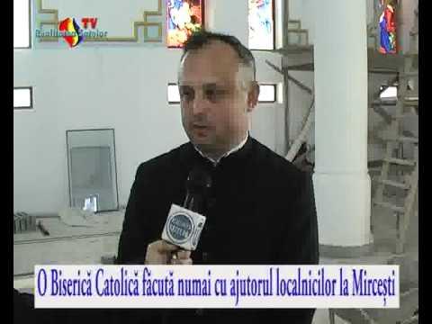 Video Biserica Catolica Construita La Mircesti Doar Cu Ajutorul Localnicilor video