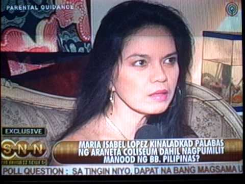 Interviewed & aired on SNN ABS-CBN --- No Copyright Infringement