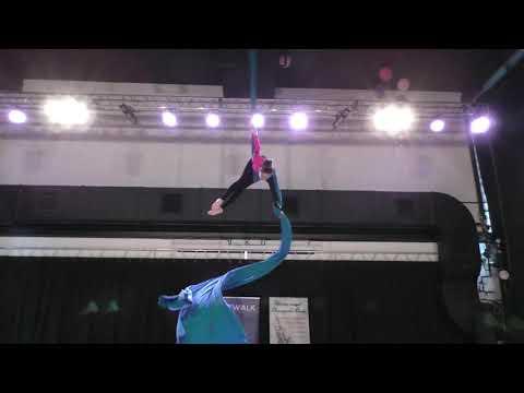 Арина Бородина - Catwalk Dance Fest [pole dance, aerial]  30.04.18.