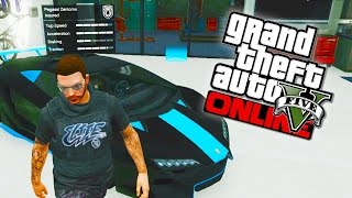 GTA 5 Online - $10,000,000 Best Cars Garage Tour! (GTA V)