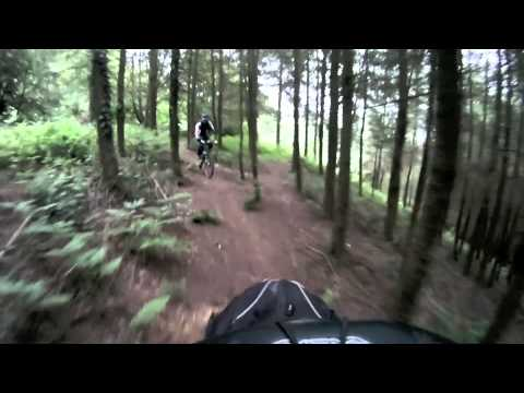 Woodbury Common Mountain Bike using GoPro Video