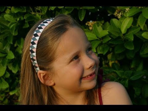Make Ribbon Woven Headbands (Part Two) by www.hair-hardware.com