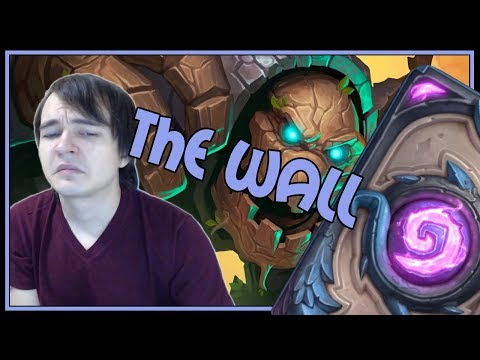 Can't break this wall | Taunt druid | The Witchwood | Hearthstone