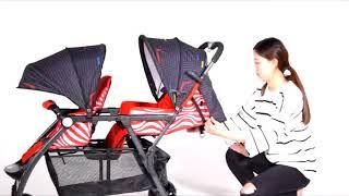 705  Twin BABY STROLLER BY WINSON KIDS SDN BHD