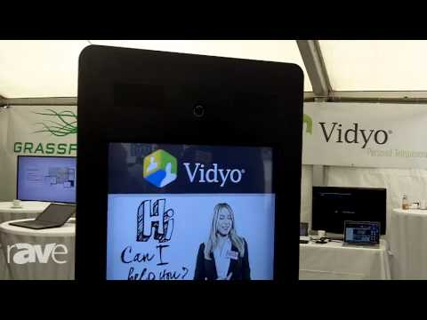 COMM-TEC 15: Vidyo Shows How Easy They Make a Human Support Kiosk Work (EN)