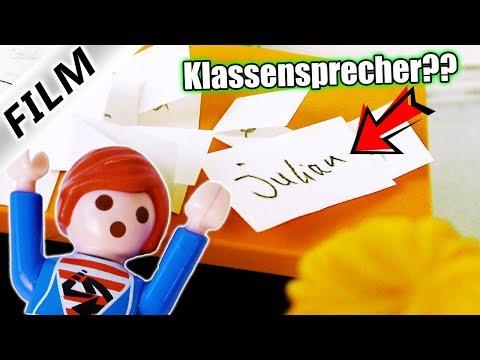 Playmobil Film Deutsch JULIAN WIRD KLASSENSPRECHER? GANZE KLASSE LIEBT IHN? Familie Vogel