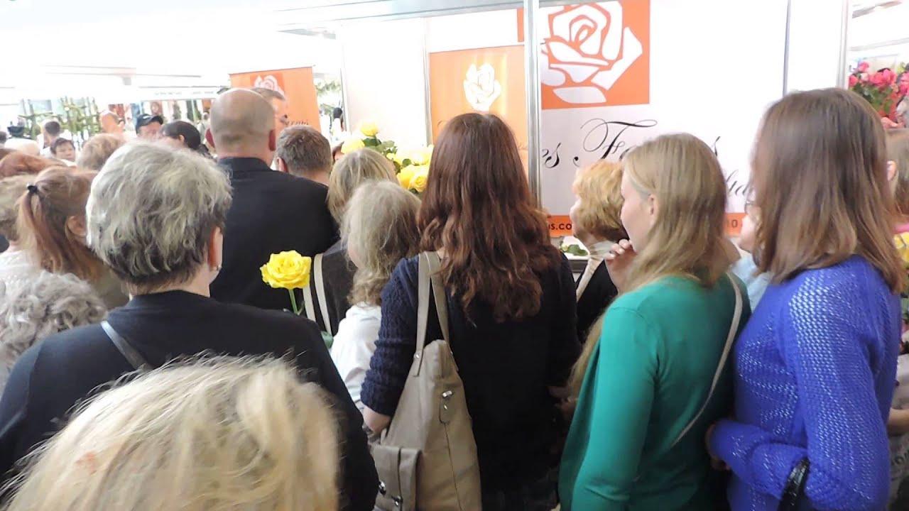 фото выставка цветов на ввц: