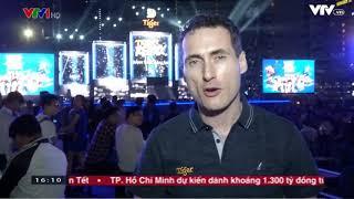 Tin VTV1 - Lễ hội âm nhạc TIGER REMIX 2018 tại Nha Trang