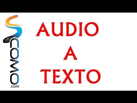 Cómo transcribir audio a texto de forma gratuita