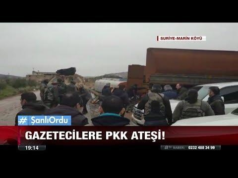 Gazetecilere pkk ateşi! - 26 Ocak 2018