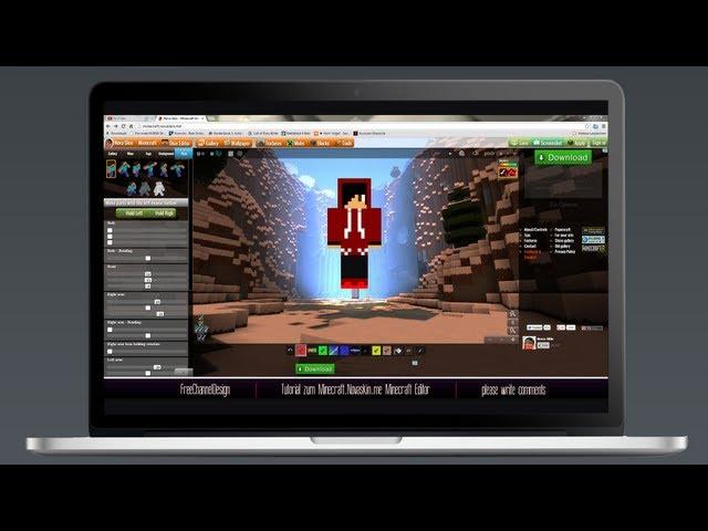Tutorial: Minecraft.Novaskin.me Minecraft Editor [Deutsch | HD]