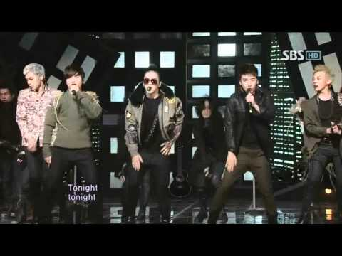 Bigbang -  Tonight (빅뱅-투나잇) sbs Inkigayo 인기가요 20110306 video