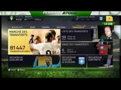 Live sur FIFA FUT 15 - Achat Revente et Sport IRL - L'Invité du soir : Malik-