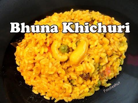 Bhuna Khichuri - Bengali recipe