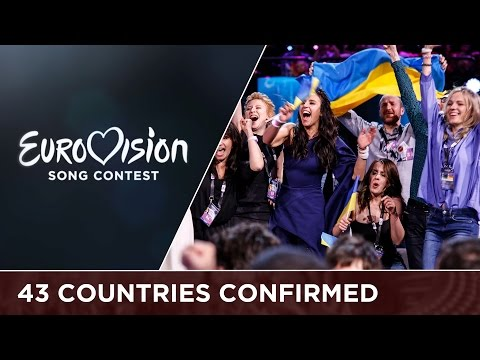 43 countries will participate at Eurovision 2017!