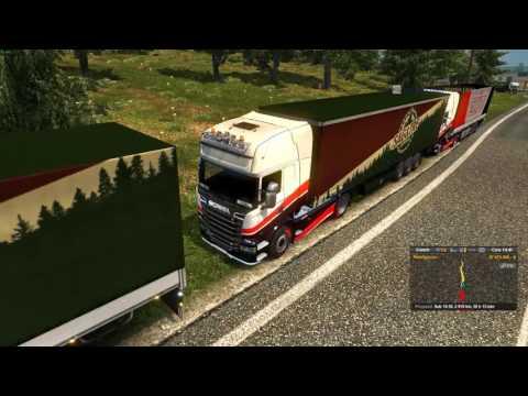 Euro Truck Simulator 2 Konwój Firmowy #4 5/6 Mordercza Czkawka W/PrezesGaming